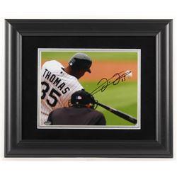 Frank Thomas Signed Chicago White Sox 14x17 Custom Framed Photo Display (Schwartz Sports COA)