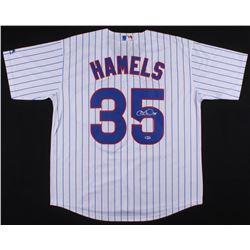 Cole Hamels Signed Chicago Cubs Jersey (Beckett COA)