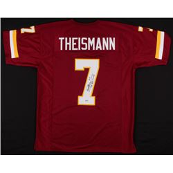 "Joe Theismann Signed Washington Redskins Jersey Inscribed ""SB XVII MVP"" (Beckett COA)"