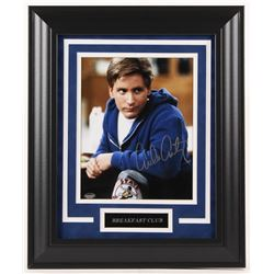 "Emilio Estevez Signed ""The Breakfast Club"" 14x17 Custom Framed Photo Display (Schwartz Sports COA)"