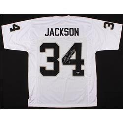 Bo Jackson Signed Oakland Raiders Jersey (Beckett COA)