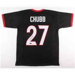 Nick Chubb Signed Georgia Bulldogs Jersey (Radtke COA)