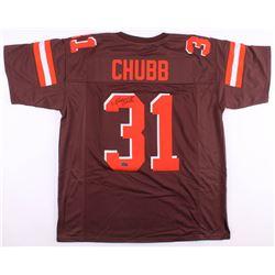 Nick Chubb Signed Cleveland Browns Jersey (Radtke COA)