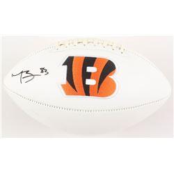 Tyler Boyd Signed Cincinnati Bengals Logo Football (Radtke COA)