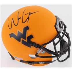 Will Grier Signed West Virginia Mountaineers Mini Helmet (Radtke COA)