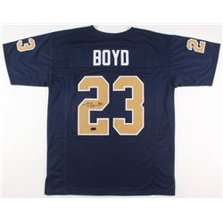 Tyler Boyd Signed Pittsburgh Panthers Jersey (Radtke COA)