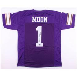 "Warren Moon Signed Minnesota Vikings Jersey Inscribed ""HOF 06"" (Radtke COA)"