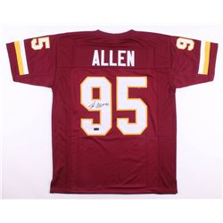 Jonathan Allen Signed Washington Redskins Jersey (Radtke COA)