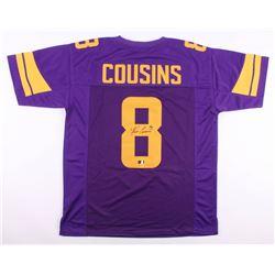 Kirk Cousins Signed Minnesota Vikings Jersey (Radtke COA)