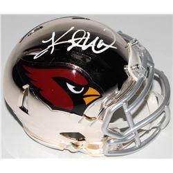 Kurt Warner Signed Arizona Cardinals Chrome Speed Mini Helmet (PSA COA)