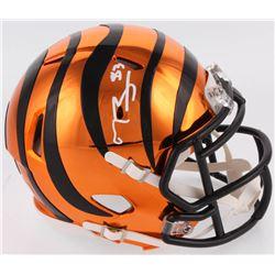 Tyler Boyd Signed Cincinnati Bengals Chrome Speed Mini Helmet (Radtke COA)