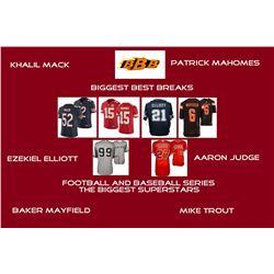 """Biggest Best Breaks"" Mystery Box - Football and Baseball Series (The Biggest Superstars)"