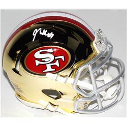 George Kittle Signed San Francisco 49ers Chrome Speed Mini Helmet (Radtke COA)