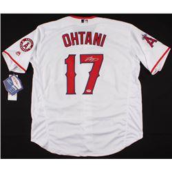 Shohei Ohtani Signed Los Angeles Angels Jersey (PSA COA)