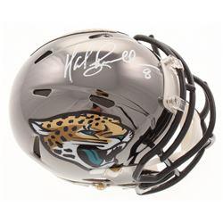 Mark Brunell Signed Jacksonville Jaguars Chrome Speed Mini Helmet (Radtke COA)