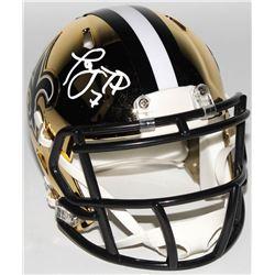 Taysom Hill Signed New Orleans Saints Chrome Speed Mini Helmet (Radtke COA)