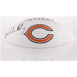 William Perry Signed Chicago Bears Logo Football (JSA COA)