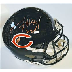 Leonard Floyd Signed Chicago Bears Full-Size Speed Helmet (JSA COA)