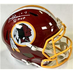 "Joe Theismann Signed Washington Redskins Full-Size Speed Helmet Inscribed ""83 MVP"" (Beckett COA)"