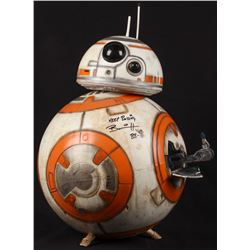"Brian Herring Signed Disney ""Star Wars: The Force Awakens"" Big-Figs Deluxe 18"" Custom Hand-Painted B"