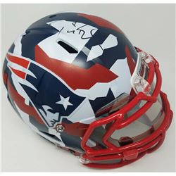 "Tom Brady Signed New England Patriots Limited Edition ""Swedish Camp"" Full-Size Authentic On-Field He"