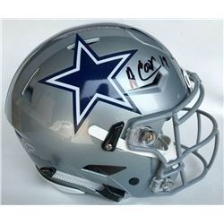 Amari Cooper Signed Dallas Cowboys Full-Size Authentic On-Field Speedflex Helmet (Beckett COA)