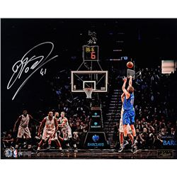 Dirk Nowitzki Signed Dallas Mavericks 16x20 Limited Edition Photo (Panini COA)