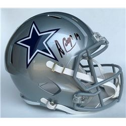 Amari Cooper Signed Dallas Cowboys Full-Size Speed Helmet (Beckett COA)