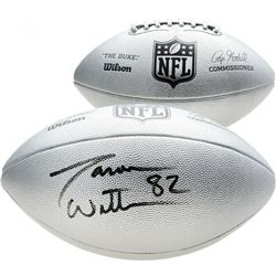 "Jason Witten Signed ""The Duke"" Silver Official NFL Game Ball (Fanatics Hologram)"