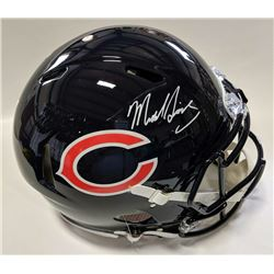 Mike Singletary Signed Chicago Bears Full-Size Authentic On-Field Speed Helmet (Beckett COA)