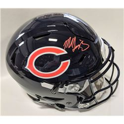 Mike Singletary Signed Chicago Bears Full-Size Authentic On-Field Speedflex Helmet (Beckett COA)