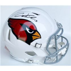 Christian Kirk Signed Arizona Cardinals Full-Size Authentic On-Field Speed Helmet (JSA COA)