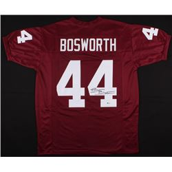 Brian Bosworth Signed Oklahoma Sooners Jersey (Beckett COA)
