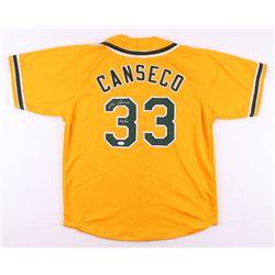 "Jose Canseco Signed Oakland Athletics ""Chemist"" Jersey Inscribed ""40/40"" (JSA COA)"