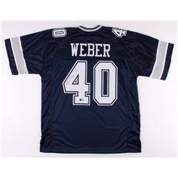 Mike Weber Signed Dallas Cowboys Jersey (TriStar Hologram)