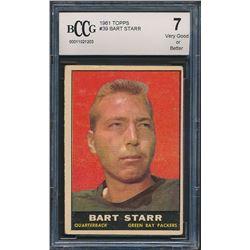 1961 Topps #39 Bart Starr (BCCG 7)