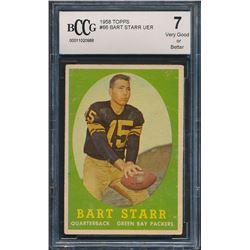 1958 Topps #66 Bart Starr (BCCG 7)