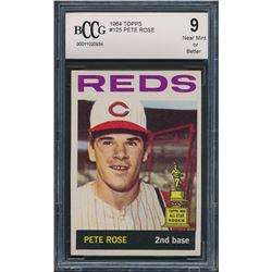 1964 Topps #125 Pete Rose (BCCG 9)
