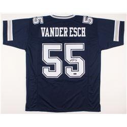 Leighton Vander Esch Signed Dallas Cowboys Jersey (Radtke COA)