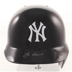 Yogi Berra Signed New York Yankees Full-Size Batting Helmet (MLB Hologram  Ironclad Hologram)