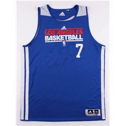 Lamar Odom Game-Used Los Angeles Clippers Warm Up Jersey (Rene Nezhoda LOA)