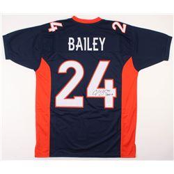 """Champ Bailey Signed Denver Broncos Jersey Inscribed """"HOF 19"""" (JSA COA)"""