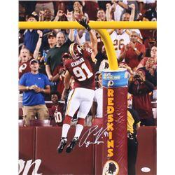 Ryan Kerrigan Signed Washington Redskins 16x20 Photo (JSA COA)