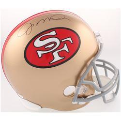 Joe Montana Signed San Francisco 49ers Full-Size Helmet (JSA COA)
