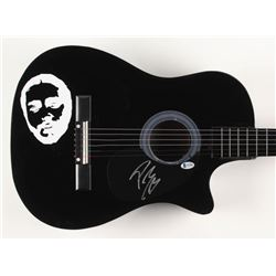 "Post Malone Signed 38"" Acoustic Guitar (Beckett COA)"