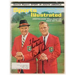 "Arnold Palmer Signed 1962 Sports Illustrated Magazine Inscribed ""Best Wishes"" (JSA COA)"