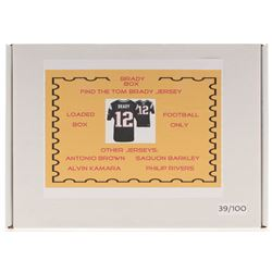 """Brady Box"" Loaded Mystery Box - Football Series (Find the Tom Brady Jersey!)"