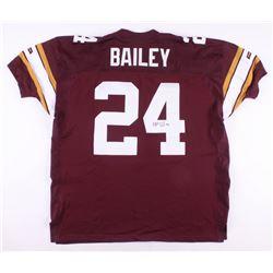 Champ Bailey Signed Washington Redskins Reebok Jersey with 70th Anniversary Patch (JSA COA)