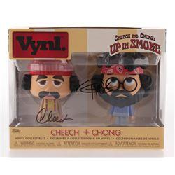 "Cheech Marin  Tommy Chong Signed ""Up in Smoke"" Cheech  Chong Funko Vynl. Figures (JSA COA)"