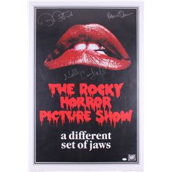 """Barry Bostwick, Nell Campbell,  Patricia Quinn Signed """"The Rocky Horror Picture Show"""" 27x39.75 Poste"""